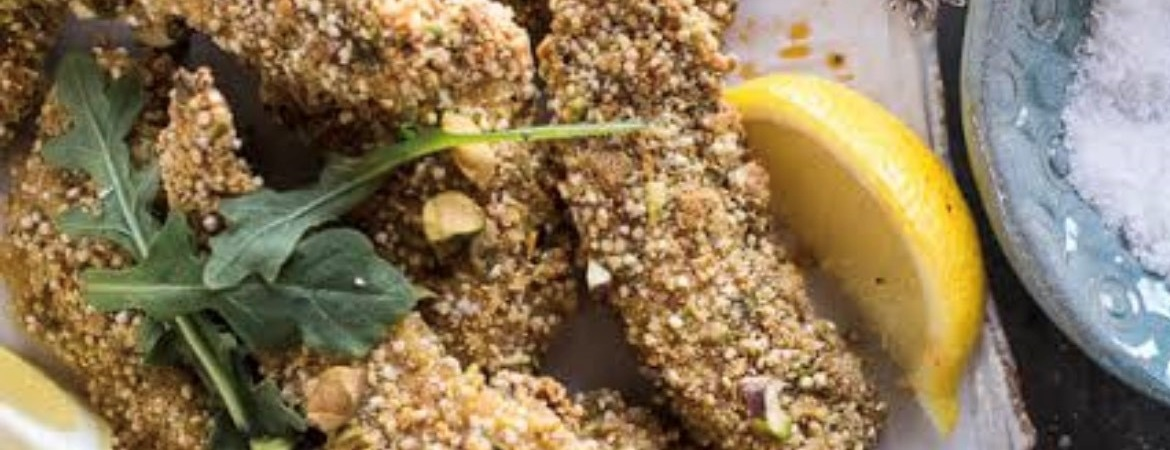 Egyptian Style Crusted Chicken